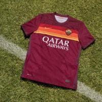 La nuova maglia della Roma: fasce orizzontali per ricordare la Coppa Italia 1980