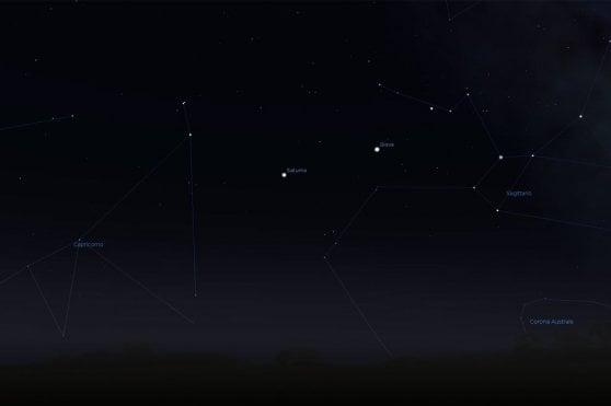 Le notti dei giganti: lo show di Saturno e Giove, aspettando Marte