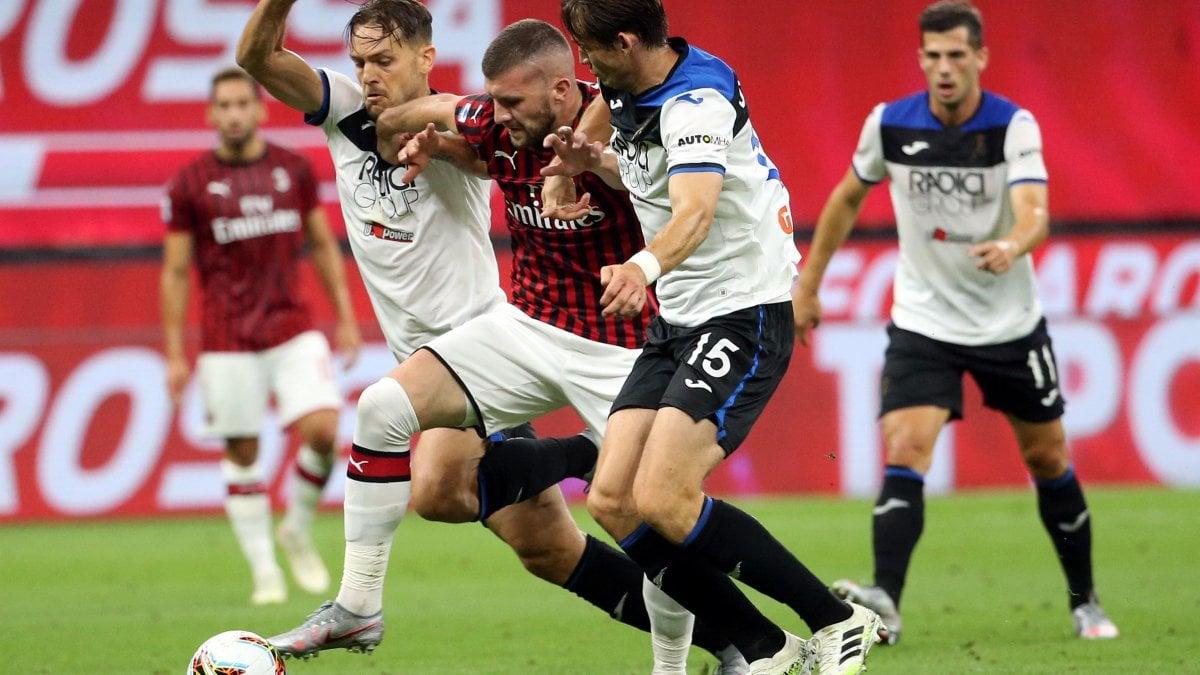 Milan-Atalanta 1-1, Zapata risponde a Calhanoglu