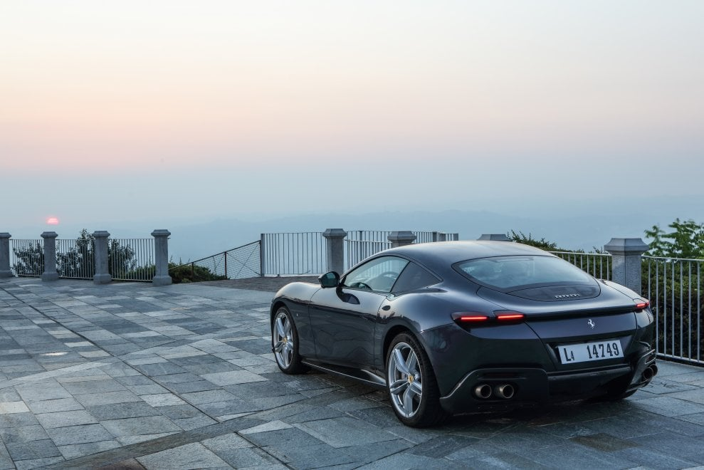 Ferrari Roma, la grande bellezza