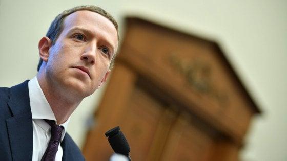 """Processo ai big tech, Zuckerberg al Congresso Usa: """"Facebook orgogliosamente americana, la Cina ha valori diversi"""""""
