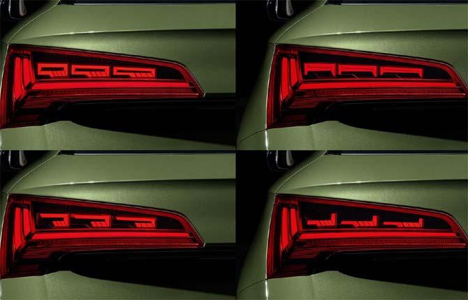 Fari digitali, la sfida dell'Audi
