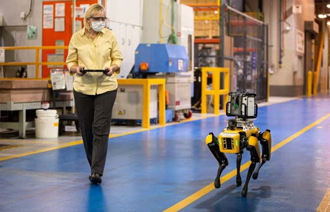 "Ford adotta i robot a ""quattro zampe"""