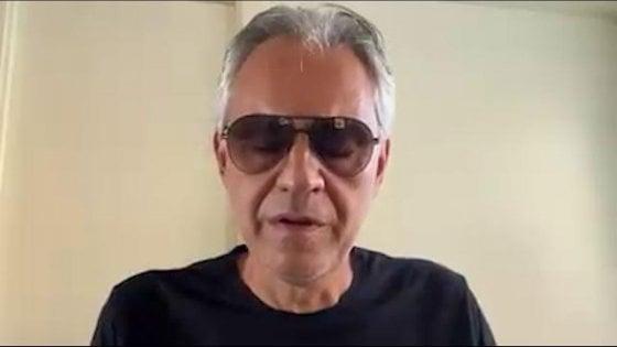 """Bocelli chiede scusa per le parole al convegno negazionista: """"Tutta la mia famiglia colpita dal Covid-19"""""""