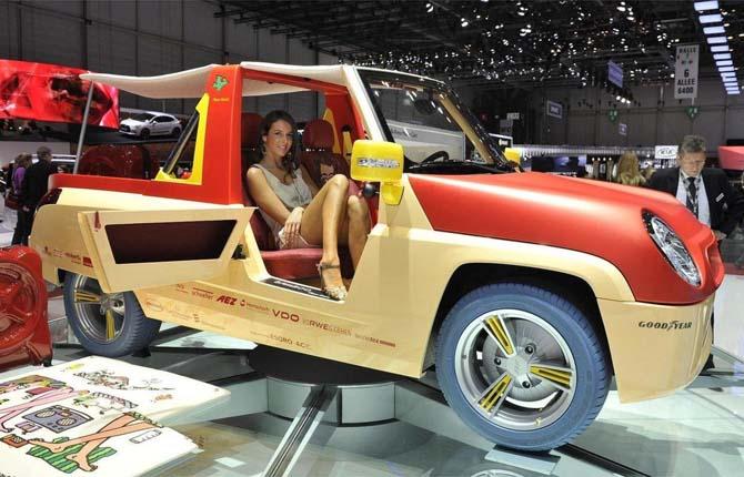 Metti le fibre di banane nell'auto del futuro