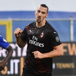 Il calcio sexy di Ibrahimovic nel campionato della pandemia