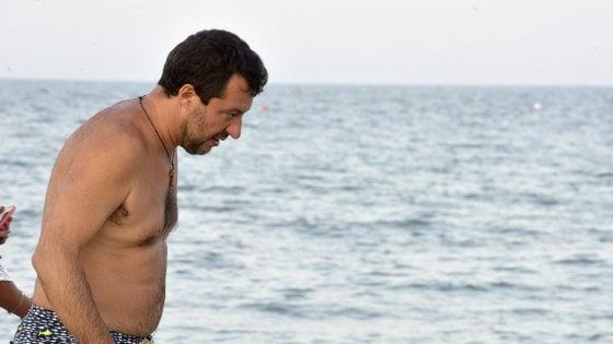"""Open Arms, Salvini: """"C'era totale accordo con Conte. Vero reato favorire immigrazione clandestina"""""""