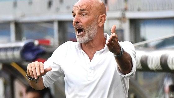 """Milan, Pioli: """"Il prossimo anno in Champions, mi auguro con Ibra"""""""