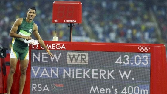 """Atletica, Van Niekerk: """"Ho ricominciato dalla paura"""""""