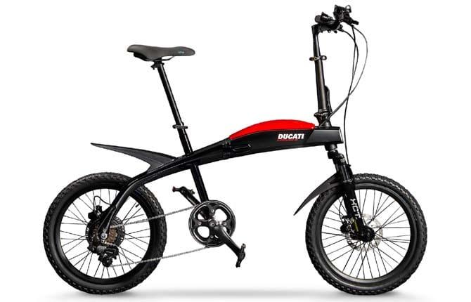 Ecco le bici elettriche pieghevoli firmate Ducati