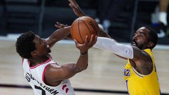 Basket Nba, Toronto ferma i Lakers. I Clippers tornano alla vittoria