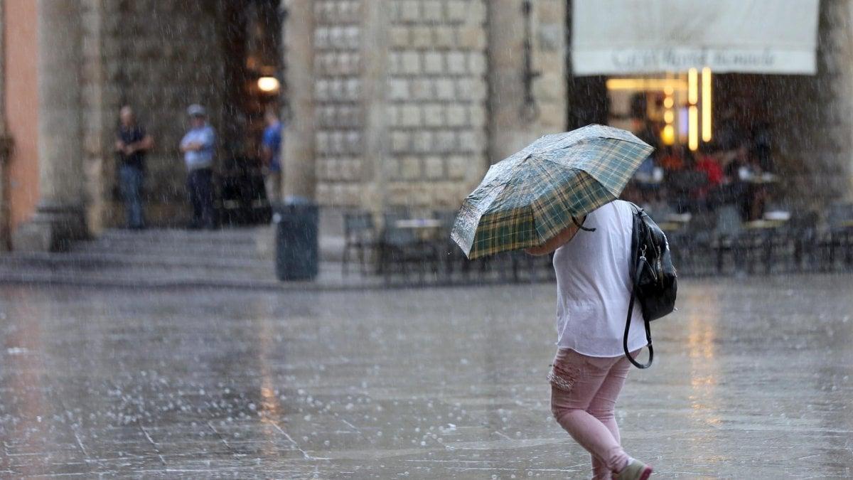 Meteo: al nord in arrivo il maltempo tra pioggia, vento e grandine