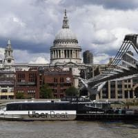 Londra. Uber firma i vaportetti sul Tamigi