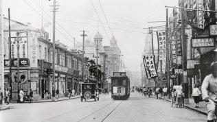 Una foto di Shanghai scattata il 16 agosto 1937