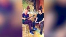 """Sting e Zucchero insieme per la versione in italiano di """"Fields of Gold"""""""
