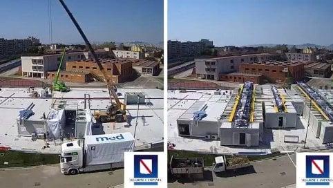 Napoli, ospedali Covid sotto inchiesta: 4 indagati, anche i fedelissimi di De Luca