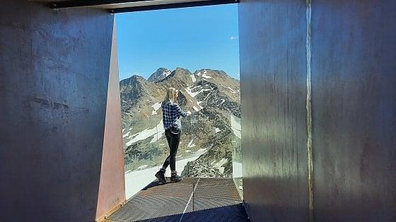 Una piattaforma per ammirare la montagna di Ötzi: così la Val Senales rimedia allo sci estivo cancellato dal global warming