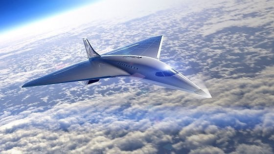 Virgin studia l'erede del Concorde: sarà un supersonico per vip