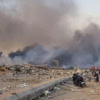 Beirut, due forti esplosioni nella zona del porto: 78 mortii e 4 mila feriti tra cui un...