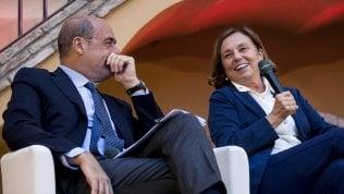 """Zingaretti chiama Lamorgese: """"Nessun rimpasto, pieno sostegno del Pd"""""""