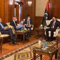 """Libia, Guerini vede Serraj: """"Nuovo slancio nella cooperazione"""""""