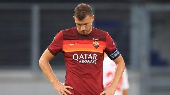 Clamorosi i due gol sbagliati da Edin Dzeko contro la Juventus