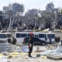 """Beirut. Nasrallah: """"Nessun nostro arsenale nel porto"""".  Aoun: """"Possibile azione esterna""""...."""