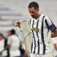 Juventus-Lione 2-1: la doppietta di Ronaldo non basta, addio di Sarri alla