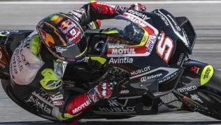 MotoGp, sorpresa Zarco: sua la pole a Brno. Morbidelli 3° dietro a Quartararo, disastro Dovizioso