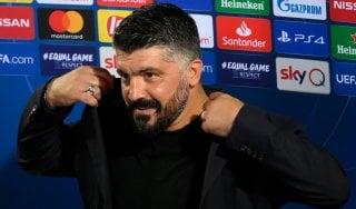 """Napoli, Gattuso: """"Dobbiamo cambiare mentalità"""""""