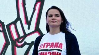 """Tikhanovskaja: """"La fine di Lukashenko è vicina. La Bielorussia si è svegliata"""""""