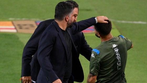 """Il Napoli volta pagina, a Barcellona la fine di un ciclo. Insigne saluta Callejon: """"Quel tuo taglio mi mancherà"""""""