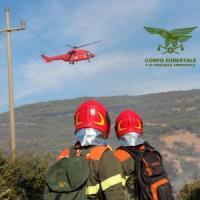 Incendi: 2 volontari lotta fuoco arrestati in Sardegna