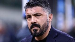 Fumata grigia tra Gattuso e De Laurentiis: rinviato il rinnovo del contratto