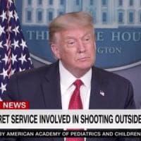 Usa, sparatoria vicino alla Casa Bianca: Trump interrompe la conferenza stampa. Poi...