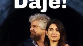 """Raggi ricandidata, il sì di Grillo: """"Daje!"""". Ma la base M5s protesta: """"Che fine fa limite dei 2 mandati?"""""""