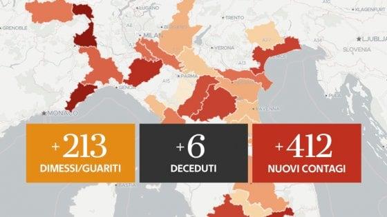 Coronavirus, il bollettino di oggi 11 agosto: 6 vittime nelle ultime 24 ore. I nuovi positivi sono 412