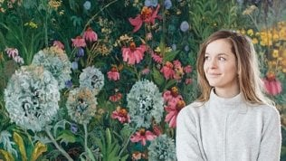 """La storia L'arte di Jelly: """"Dipingo le foreste per salvarle""""di GIACOMO TALIGNANI"""
