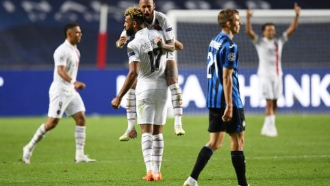 Il sogno dell'Atalanta finisce a tempo scaduto: il Psg fa 1-2 in rimonta al 93' e va in semifinale di Champions