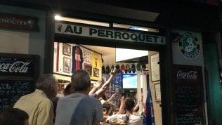 La paura nel bar dei tifosi del Psg. Poi l'urlo liberatorio di B. PERILLI
