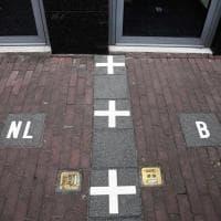 Baarle, la città delle 'mille enclavi' Belgio-Olanda