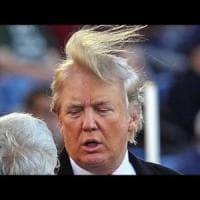 """Trump: """"Nella doccia per avere capelli perfetti serve più acqua"""". E il governo farà..."""