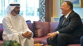 Un colloquio tra Pompeo (Usa) e Mohammed bin Zayed (Abu Dhabi)