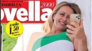 Il costume tricolore di Giorgia Meloni, quando il capo politico è un brand