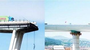 Il nuovo ponte a due anni dalla tragedia del Morandi