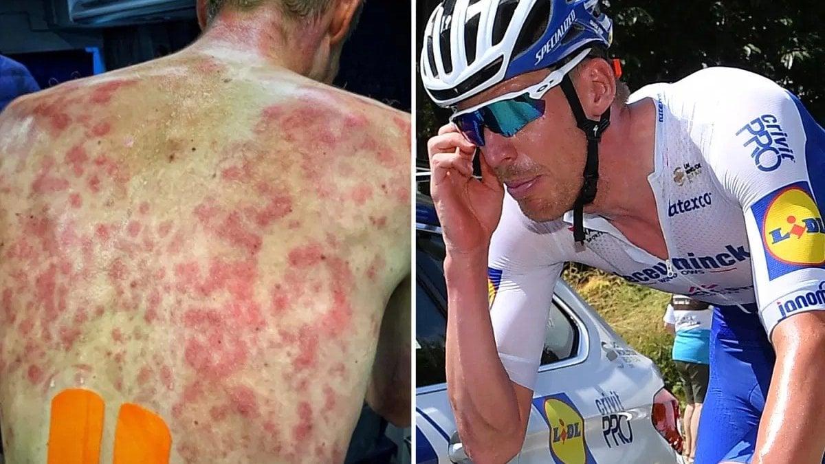 Ciclismo, violenta grandinata al Giro del Delfinato. Roglic mette tutti in fila sul Col de Porte