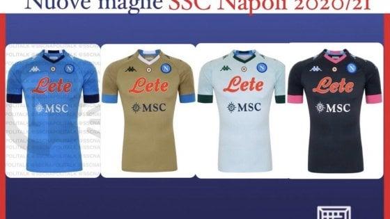 Napoli, le nuove maglie fanno discutere: tifosi contro il colore ...