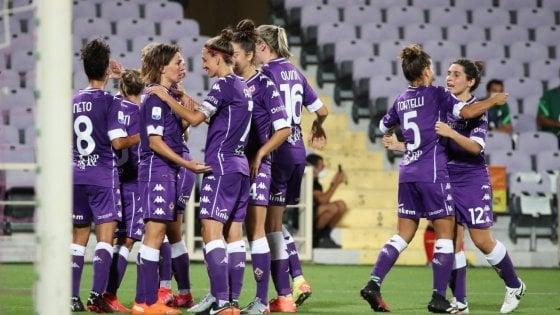 Serie A femminile, buona la prima per la Juventus. Poker della Fiorentina all'Inter
