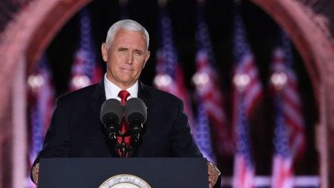"""Il vicepresidente Pence rilancia per altri 4 anni alla Casa Bianca: """"Biden un cavallo di troia della sinistra radicale. Le violenze devono finire, porteremo legge e ordine per tutti"""" liveblog"""