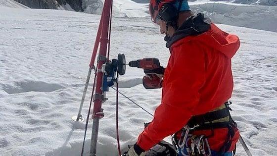 Monte Rosa, turista ritrovata per caso e salvata dopo due notti in un crepaccio